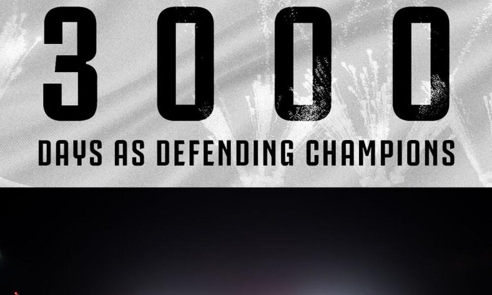 Γιουβέντους: 3.000 μέρες Πρωταθλήτρια!