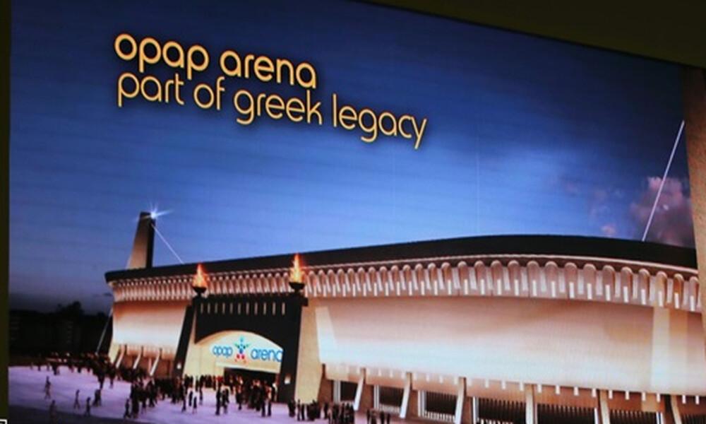 ΑΕΚ: Τα… αποκαλυπτήρια της «OPAP Arena» (video)