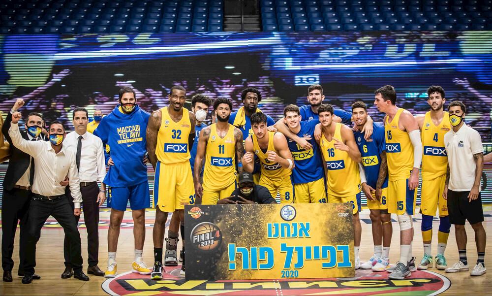 Τρομερός Ντόρσεϊ! Στο Final Four η Μακάμπι Τελ Αβίβ