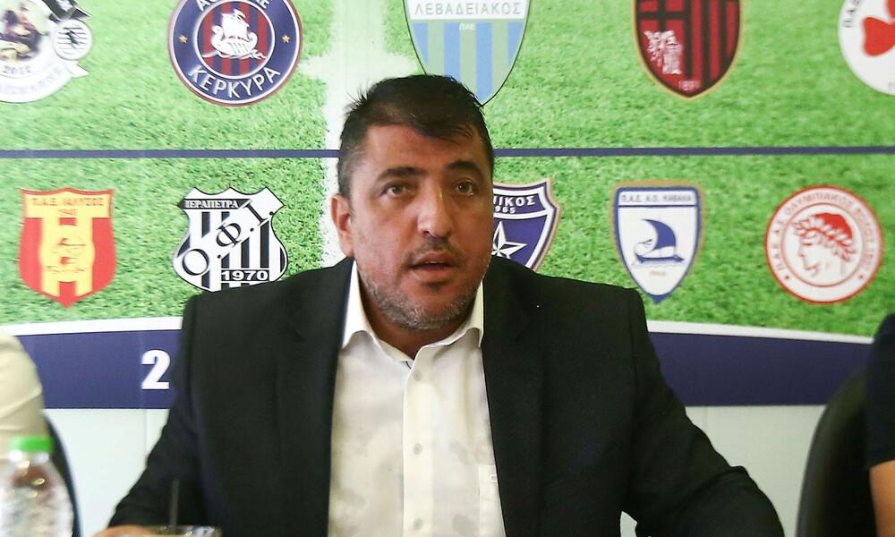 Superleague 2-Football League: Επανεκλογή Λεουτσάκου