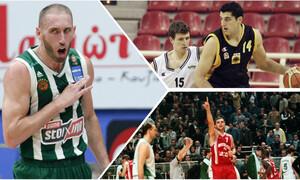 Οι παίκτες που έχουν παίξει σε Παναθηναϊκό, Ολυμπιακό και ΑΕΚ (photos)