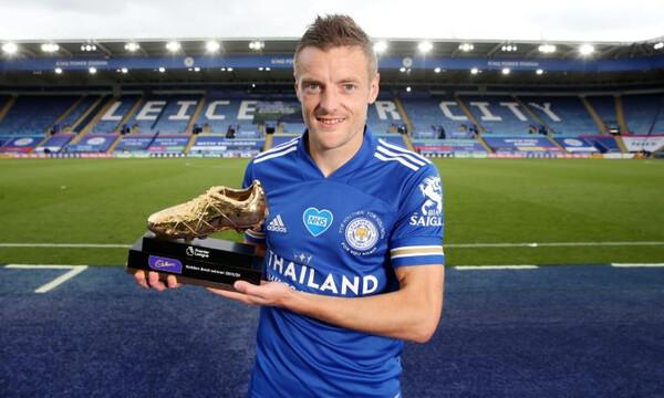 Premier League: Το «χρυσό παπούτσι» στον Βάρντι (video+photos)