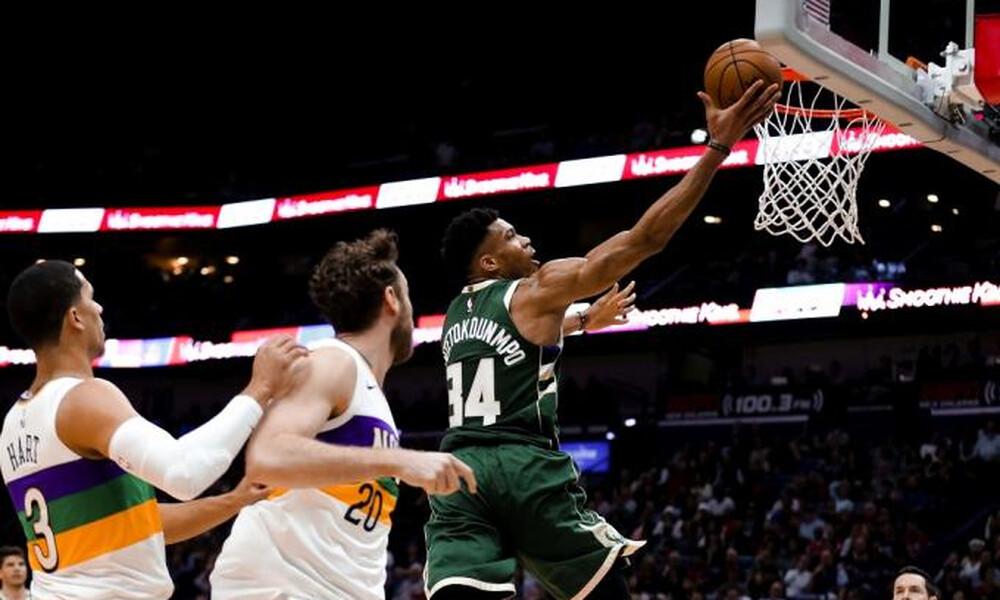 NBA: Δεν έφτανε ο εκπληκτικός Αντετοκούνμπο (video)