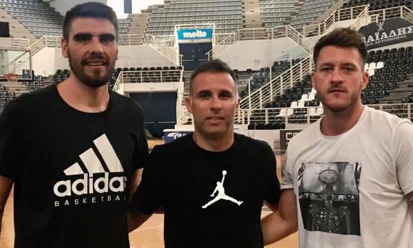 ΠΑΟΚ: Μέξας, Παπαντωνίου και Μαργαρίτης στο «PAOK Sports Arena»