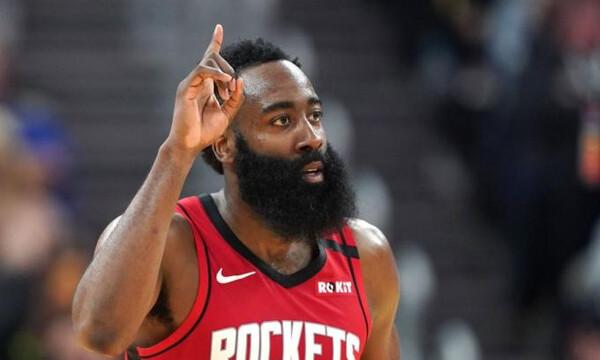 NBA: Επέστρεψε ορεξάτος ο Χάρντεν (video)