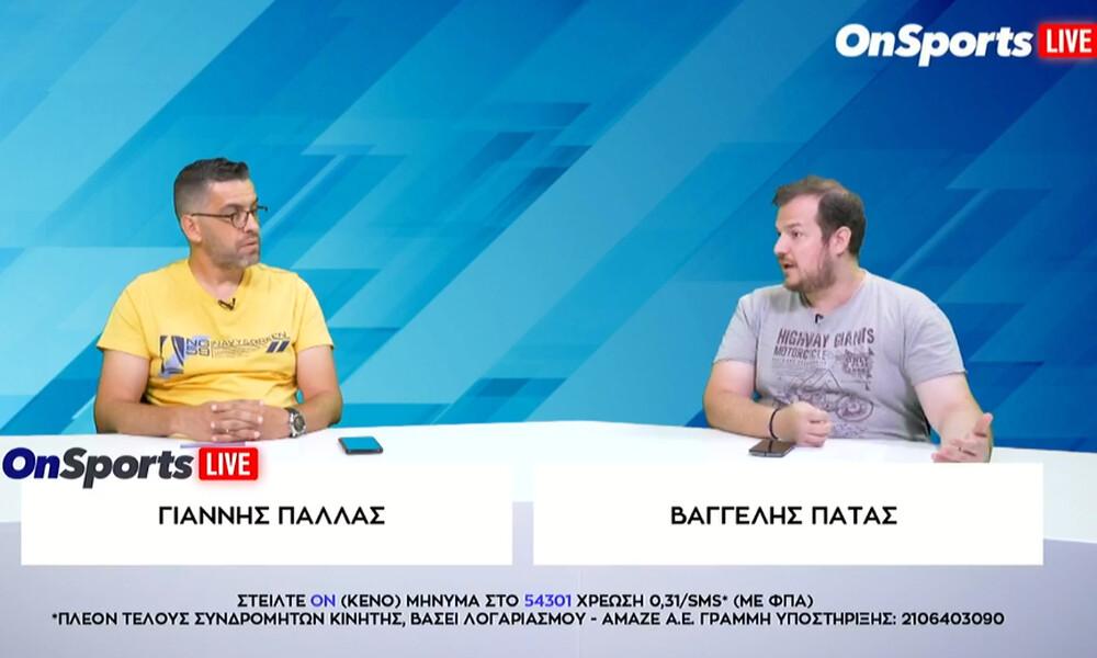 Onsports LIVE: Δείτε ξανά την εκπομπή με Πάλλα και Πάτα