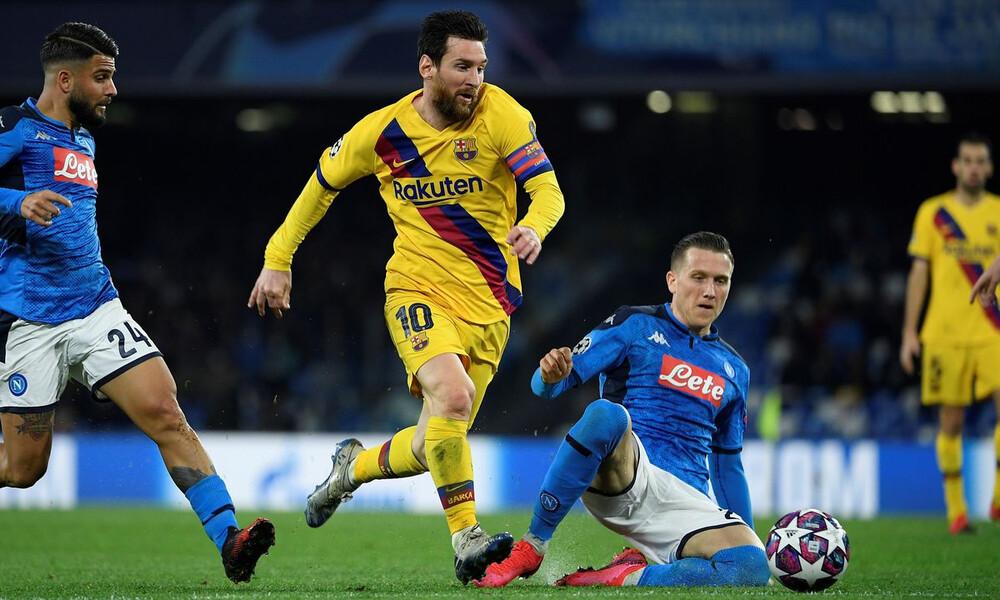 Champions League: Στο «Καμπ Νου» το Μπαρτσελόνα-Νάπολι