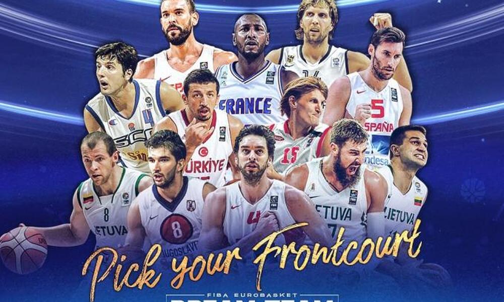 FIBA: Μποντίρογκα, Νοβίτσκι και Γκασόλ στους κορυφαίους ψηλούς της 20ετίας!
