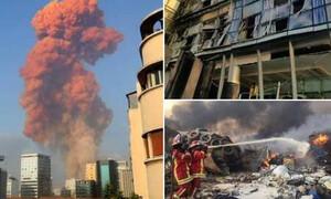 Βηρυτός: Αποκλειστικά βίντεο του Newsbomb.gr από τις τρομακτικές εκρήξεις