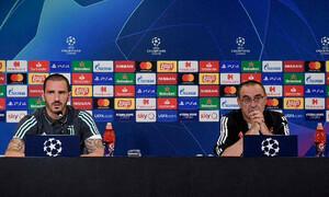 Σάρι: «Το ματς με τη Λιόν δεν θα είναι το τελευταίο μου στη Γιουβέντους»