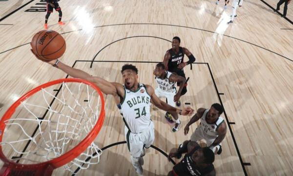 NBA Top 10: Τρελά καρφώματα και Giannis (video)