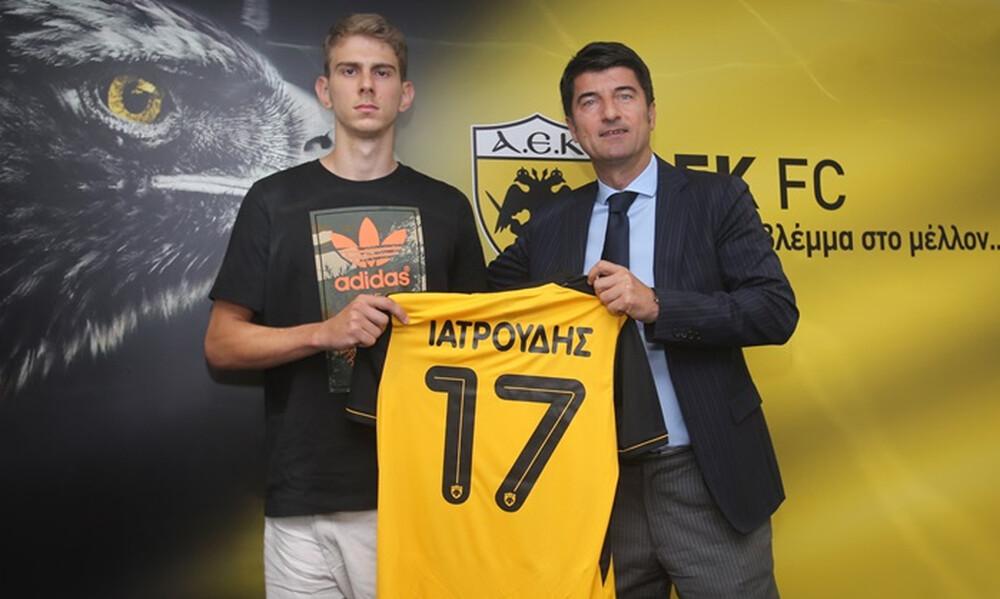 ΕΠΙΣΗΜΟ: Παίκτης της ΑΕΚ κι ο Ιατρούδης