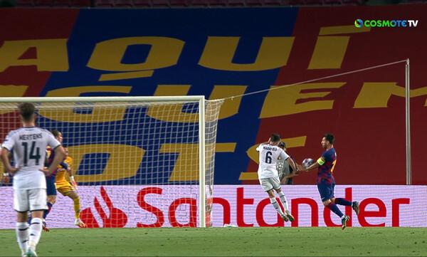 Μπαρτσελόνα – Νάπολι: Έγινε του… VAR και 3-1 στο ημίχρονο! (videos+photos)