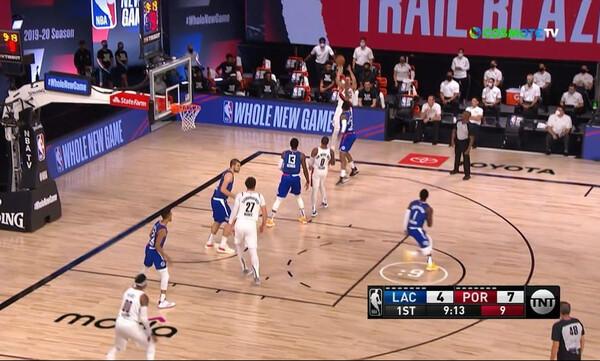 NBA: Νίκη με ανατροπή για τους Κλίπερς (video)