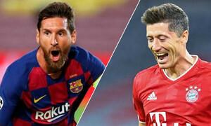 Champions League: Τιτανομαχία Μέσι-Λεβαντόφσκι στους «8» - Τα ζευγάρια (videos+photos)