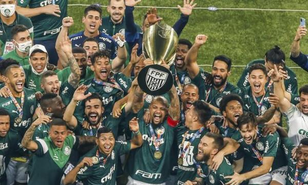 Σήκωσε το πρωτάθλημα του Σάο Πάουλο η Παλμέιρας (video)