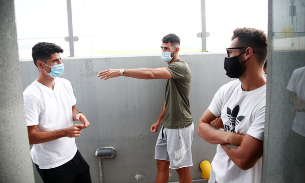 AEK: Αρνητικά τα τεστ για κορονοϊό, το πρόγραμμα της προετοιμασίας