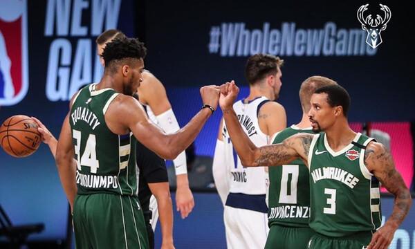 NBA: Οι Μάτζικ αντίπαλοι των Μπακς στα play off