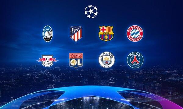 Η φάση των «8» του UEFA Champions League, ζωντανά & αποκλειστικά στην COSMOTE TV