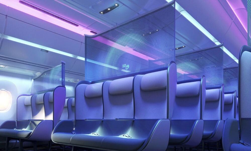 Έτσι θα είναι οι νέες καμπίνες στα αεροπλάνα λόγω κορονοϊού (video)