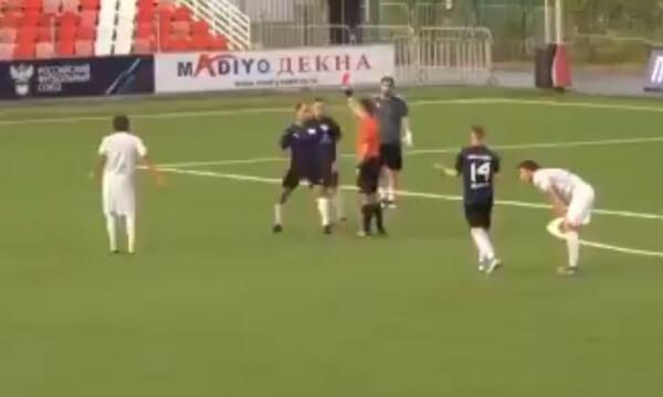 Πασίγνωστος παίκτης «σάπισε» στο ξύλο διαιτητή γιατί του έδειξε κόκκινη κάρτα (photos+video)
