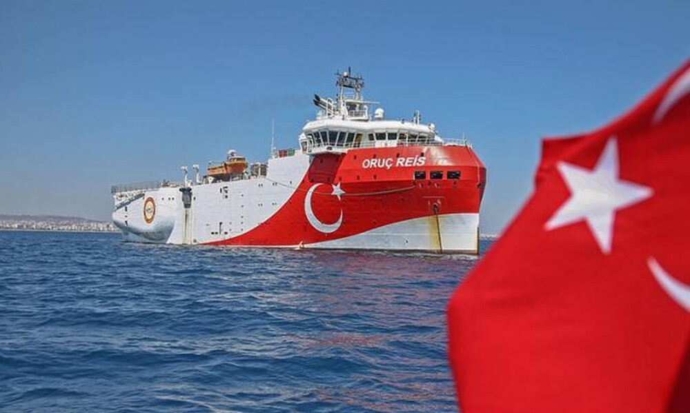 Oruc Reis: Εκτός ελληνικής υφαλοκρηπίδας το τουρκικό ερευνητικό