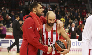 Euroleague: Με Σπανούλη, Πρίντεζη η κορυφαία δεκάδα του Ολυμπιακού (video)