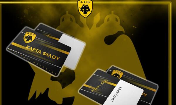 Ο κόσμος της ΑΕΚ είναι εδώ και το… δηλώνει με τις 5.000 κάρτες φίλου!