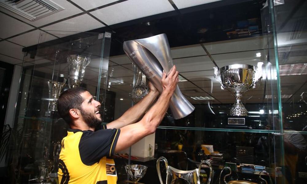 «Ταύρος» ο Ινσούα ανυπομονεί για την «πρώτη» με την ΑΕΚ (photos)