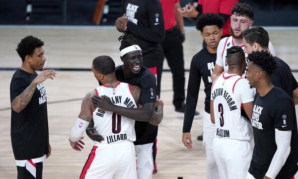NBA: Οι Μπλέιζερς έστειλαν «σπίτι» τους εκπληκτικούς Σανς (videos)