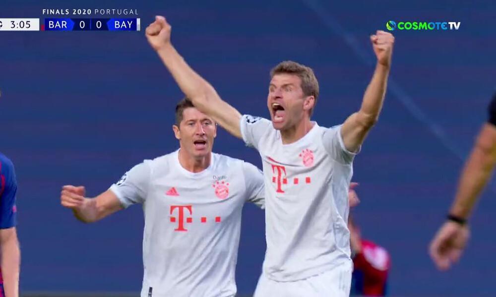 Μπαρτσελόνα-Μπάγερν Μονάχου: Δυο γκολ σε επτά λεπτά κι όλα από την αρχή! (videos+photos)