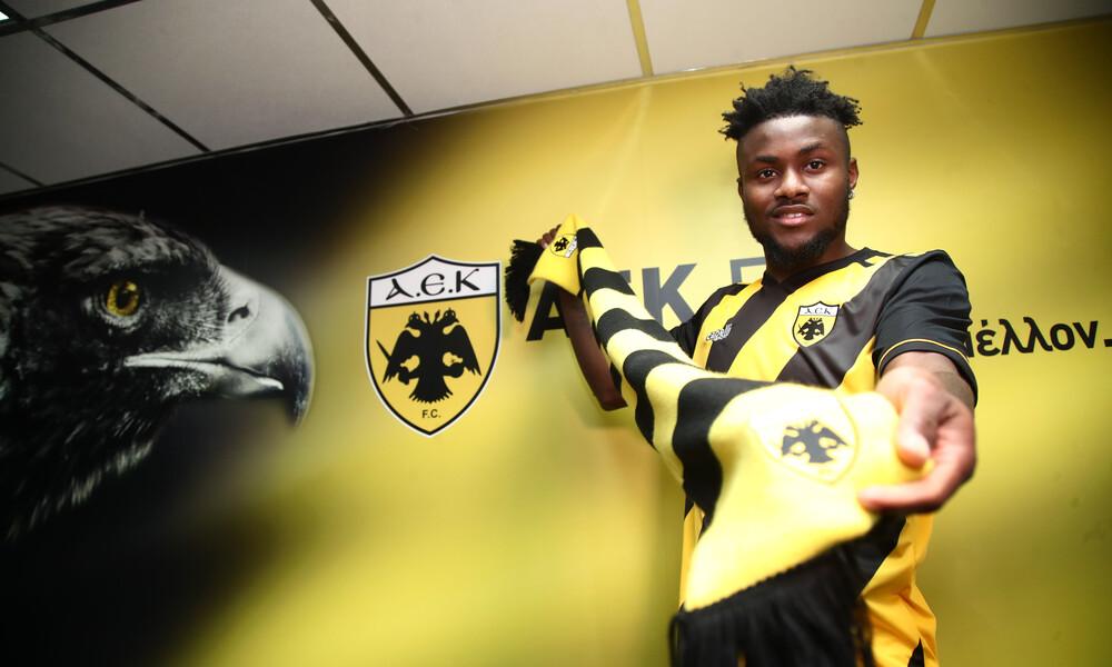 Ενομπακάρε: «Θέλω με την ΑΕΚ να βελτιωθώ και να κερδίσω τίτλους»