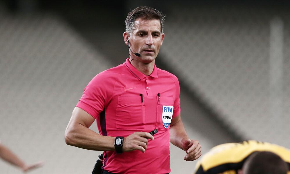UEFA: Παραμένει στην elite ο Σιδηρόπουλος, άνοδος για Παπαδόπουλο