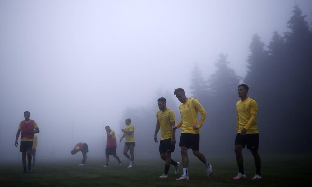 Άρης: Με ομίχλη και Γκανέα η προπόνηση (photos)