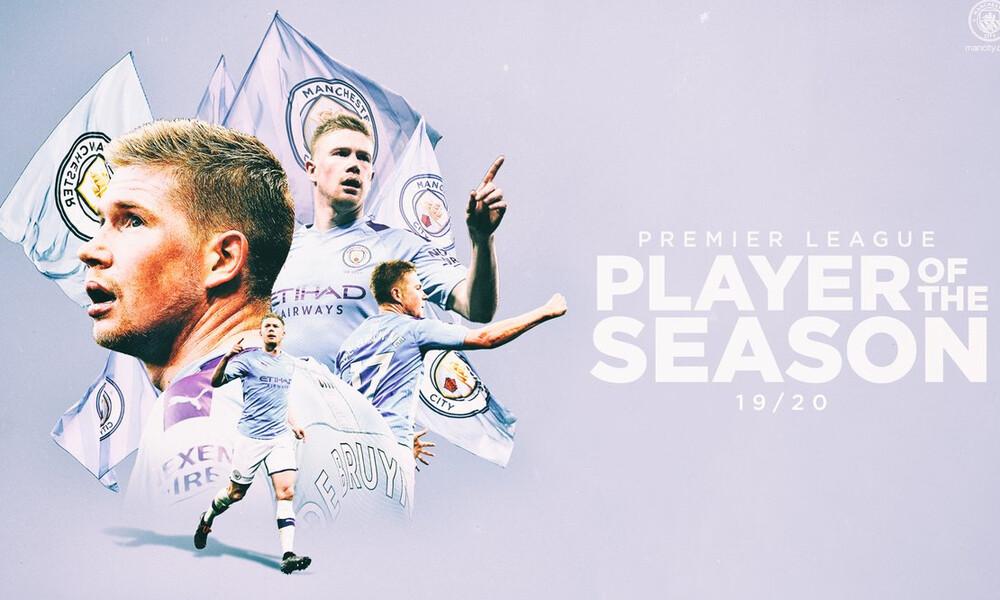 Premier League: Η Λίβερπουλ τον τίτλο αλλά ο Ντε Μπρούινε κορυφαίος της χρονιάς (video)