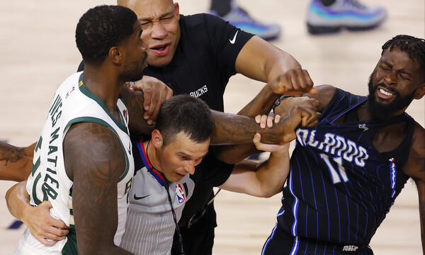 NBA: Ξύλο στο Μπακς-Μάτζικ και αποβολές (video)