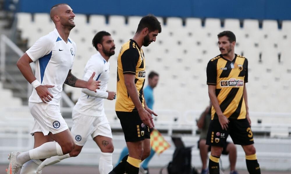 AEK-Ατρόμητος: Ο «τρελαμένος» Βέρντε, το αυτογκολ του Σβάρνα και ο Παουλίνιο (photos)