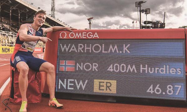 Στίβος: Ρεκόρ Ευρώπης ο Γουόρχολμ στα 400μ. εμπόδια στο Diamond League της Στοκχόλμης (video)