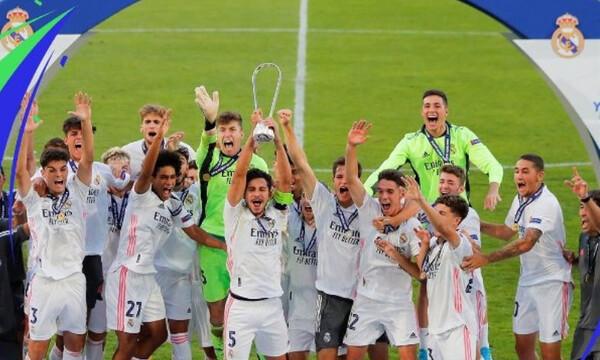 Youth League: Το σήκωσε η Ρεάλ Μαδρίτης… του Πογιάτος! (Photos)