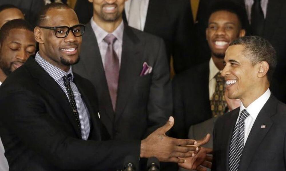 NBA: Συμβουλές του Ομπάμα σε Τζέιμς-Πολ