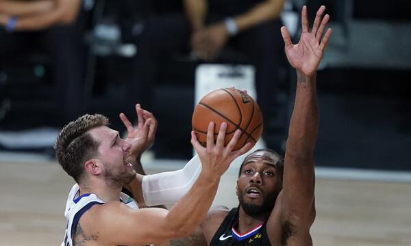 NBA: Ο Λέοναρντ τη «μονομαχία» με τον Ντόνσιτς και οι Κλίπερς την πρόκριση (videos+photos)