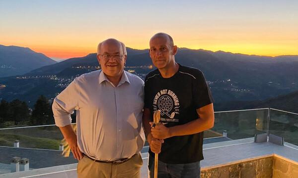 Ολυμπιακός: Στο Μέτσοβο ο Π. Αγγελόπουλος