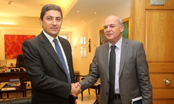 «Σεβασμό στους νόμους», ζήτησε ο Αυγενάκης στη συνάντησή του με τον πρόεδρο της ΕΠΟ