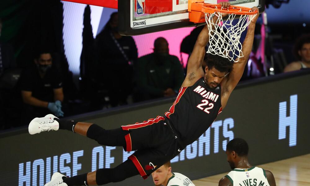 NBA: Η απίθανη παράσταση του Τζίμι Μπάτλερ (video)