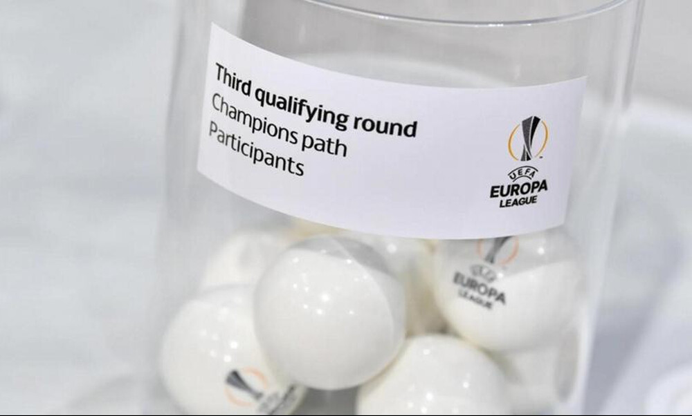 Europa League: Τα ζευγάρια του γ' προκριματικού