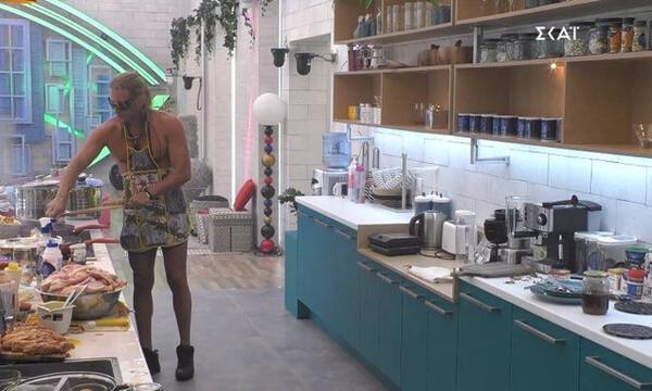 Big Brother όπως… Masterchef: Μαγειρική-έπος μόνο με ποδιά! (photos)