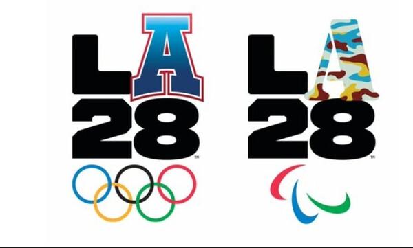 Αποκαλύφθηκαν τα λογότυπα για τους Ολυμπιακούς και Παραολυμπιακούς Αγώνες του Λος Αντζελες 2028