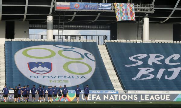 Σλοβενία-Ελλάδα LIVE: Λεπτό προς λεπτό η πρεμιέρα της Εθνικής