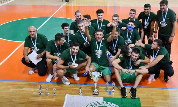 Βόλεϊ: MVP στα Τελικά του Πανελληνίου αγοριών Κ21 ο MVP της Volley League Αλέξανδρος Ράπτης (photos)
