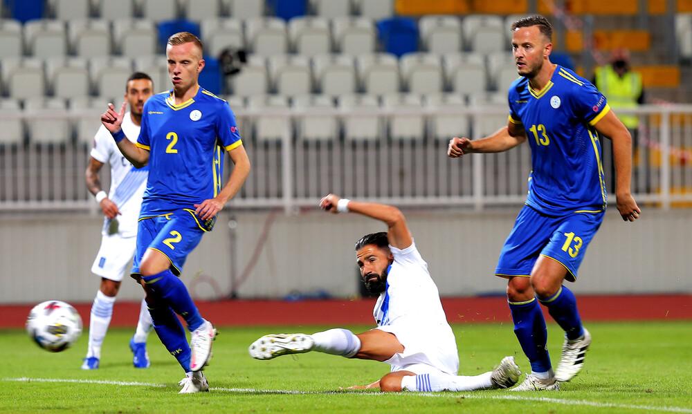 Κόσοβο-Ελλάδα 0-2: Κλειδώνει τη νίκη η Εθνική με Σιόβα (video+photos)